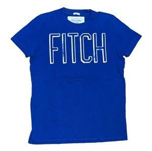 Abercrombie & Fitch Men's Blue T-Shirt Size Medium